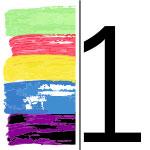 1 color