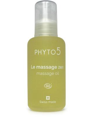 L'huile de massage Zen