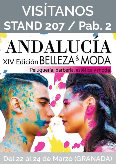 Visítanos en XIV FERIA ANDALUCÍA BELLEZA GRANADA 2019